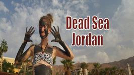 Visiting the Dead Sea in Jordan