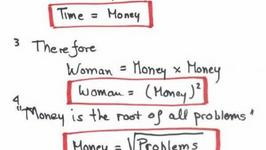 Women defined by a Mathematician