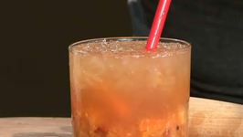 Flighty Peach Old Fashioned Cocktail