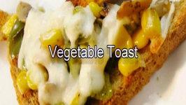 Vegetable Toast