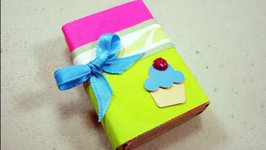 How to make a gift box from a matchbox video by simplekidscrafts how to make a gift box from a matchbox negle Images