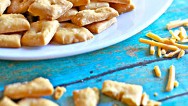 Homemade Cheese Crackers - Only 4 Ingredients