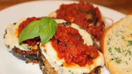 Eggplant Parmesan Light