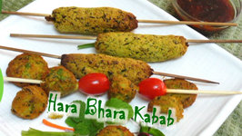 Hara Bhara Kabab- Indian Green Falafel Recipe by Bhavna