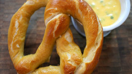 How to Make Soft Pretzels with Nacho Cheese