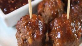 Bite-Size Cranberry Meatballs