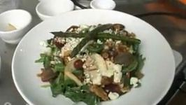 Wood Fire Grilled Chicken Apple and Pear Salad