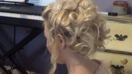 Romantic Victorian Inspired Updo