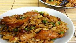 Chicken Brown Rice With Spinach Yoghurt