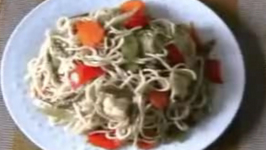 Filipino Noodles and Vegetables Stir Fry
