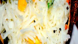 Coconut Rice/ Thengai Sadam/ Kobbari Annam