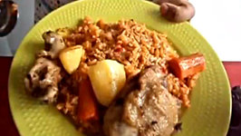Jollof Rice - African Food