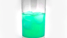Blue Waffle Cocktail