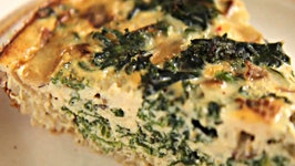Kale & Quinoa Crustless Quiche: Healthy