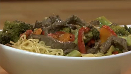 Asian Style Lemon Ginger Beef Stir-Fry