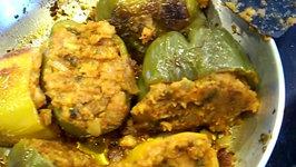 Stuffed Peppers / Stuffed Capsicum / Bharva Shimla Mirch / Masala Shimla Mirch