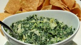 Warm Spinach Artichoke Dip Vegan Style