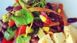 Black Bean Jalapeno Salad