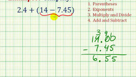 Ex 1:  Simplify an Expressing With Decimals Involving Addition and Subtraction