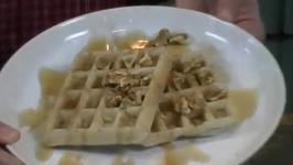 Gluten Free Vegan Waffles and Vietnamese Spring Rolls