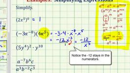Ex 1:  Simplify an Exponential Expression with Negative Exponents