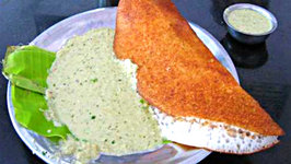 Onion Dosa- Shorter version