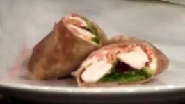 Healthy Buffalo Chicken Taco Wrap with Greek Yogurt Spread