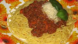 Microwave Bolognese Sauce