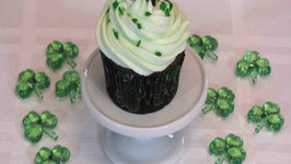 Minty Chocolate Cupcakes - St. Patrick's Day