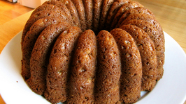 Apricot Spice Cake with Walnuts