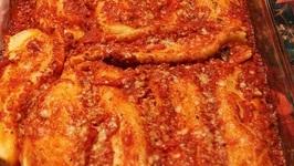 Cheese Stuffed Manicotti