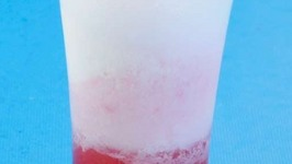 Strawberry Float by Tarla Dalal