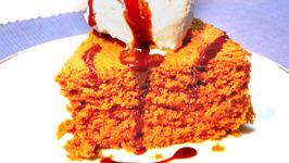 Quick Microwave Eggless Chocolate Cake