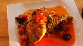 Mediterranean Chicken paired with Gabbiano Chianti