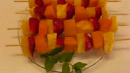 Betty's Fanciful Fruit Kebabs