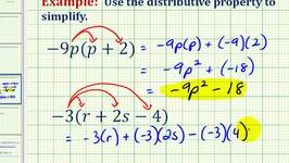 Ex 2:  The Distributive Property