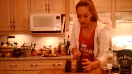 Cooking Adventures with Kimberly -How to BBQ Pepper Crusted Eye of Round Beef Roast