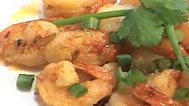 Thai Garlic Shrimps