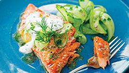 Salmon And Cucumber Salad