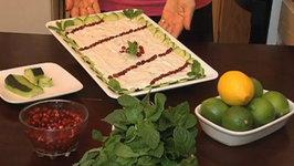 Arabic Yogurt & Cucumber with Mint Salad