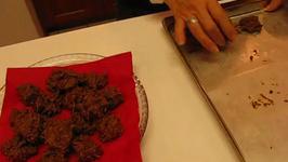Homemade Chocolate Walnut Chow Mein Bites