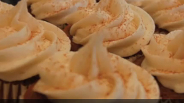 Pumpkin Spiced Vegan Cupcakes
