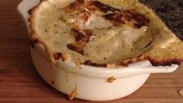 Hot and Cheesy Bruschetta Dip