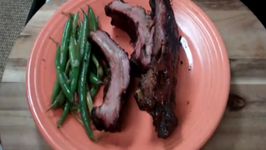 Beef/Pork Smoked Ribs - Great ribs on the UDS