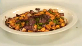 Healthy Pork Chop and Sweet Potato Casserole