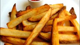 Homemade Restaurant Style Crispy French Fries