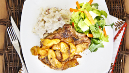 Pork Chops With Balsamic Apples