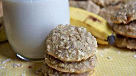 Fluffy Banana Oatmeal Cookies