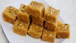 Mohanthal - Besan Burfi - Gram Flour Fudge