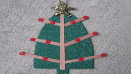 Felt Christmas Tree Craft Tutorial